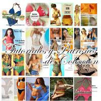 Colección de patrones ganchillo de bikinis trikinis traje de baño