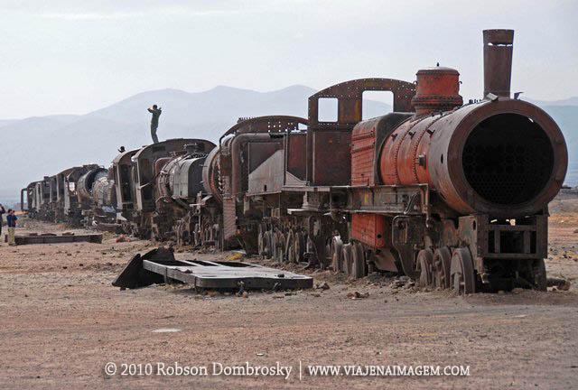 cemitério de trens