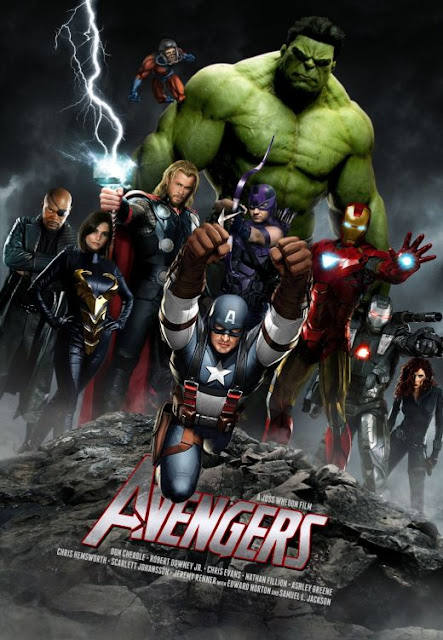 Poster Oficial The Avengers