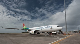 Air Seychelles in Rome, Italy