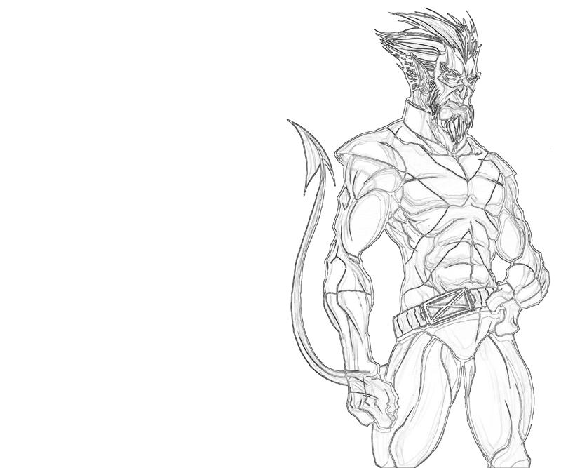 nightcrawler-character-coloring-pages