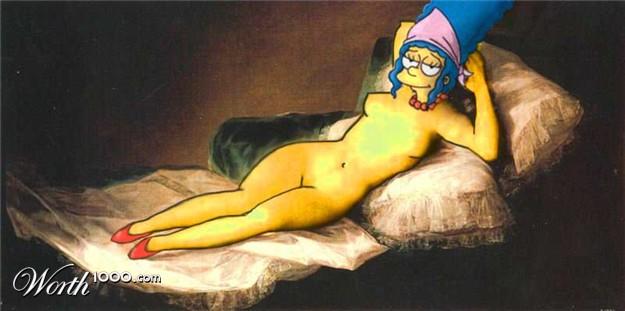 Chicas Animadas Que Podr An Ser Conejitas Junto A Marge Simpson