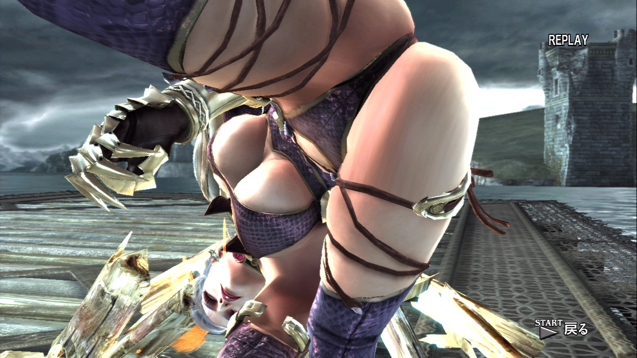 nude soul Ivy from calibur