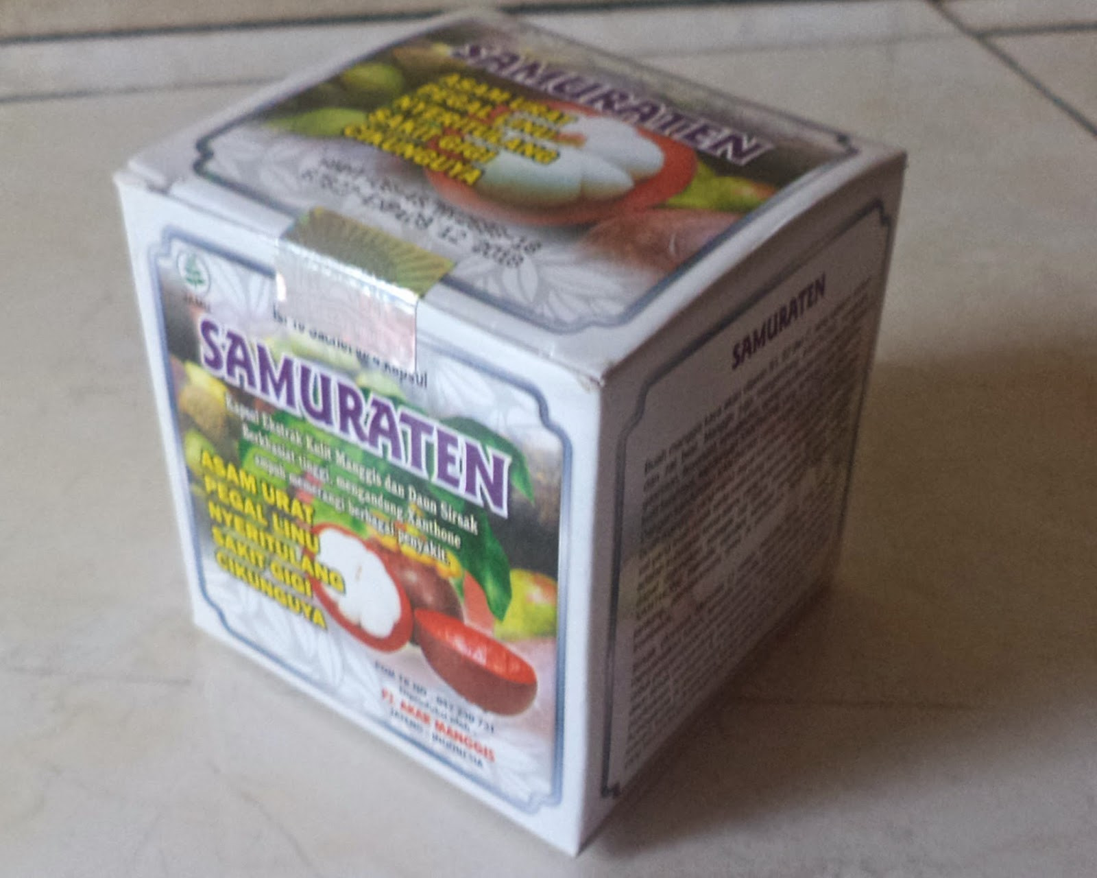 samuraten herbal jamu asam urat rematic asam urat
