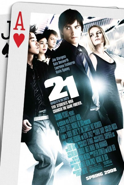 """21 (2008)"" movie review by Nazmysti Nm"