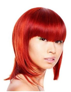 red hair color trend for winter 2012