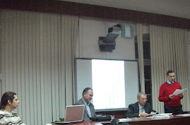 Aspect din timpul comunicării D-lui Paul Daniel Nedeloiu la CNHGS-I, la 12 februarie 2013...