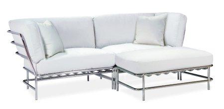 Wonderful Steel Metal Sofa Designs.