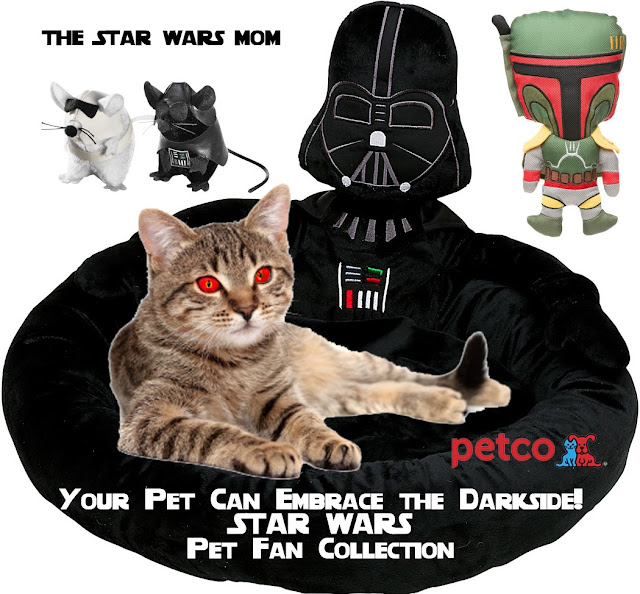 Star Wars PetCo Pet Bed, Cat Toys, and Dog Chews