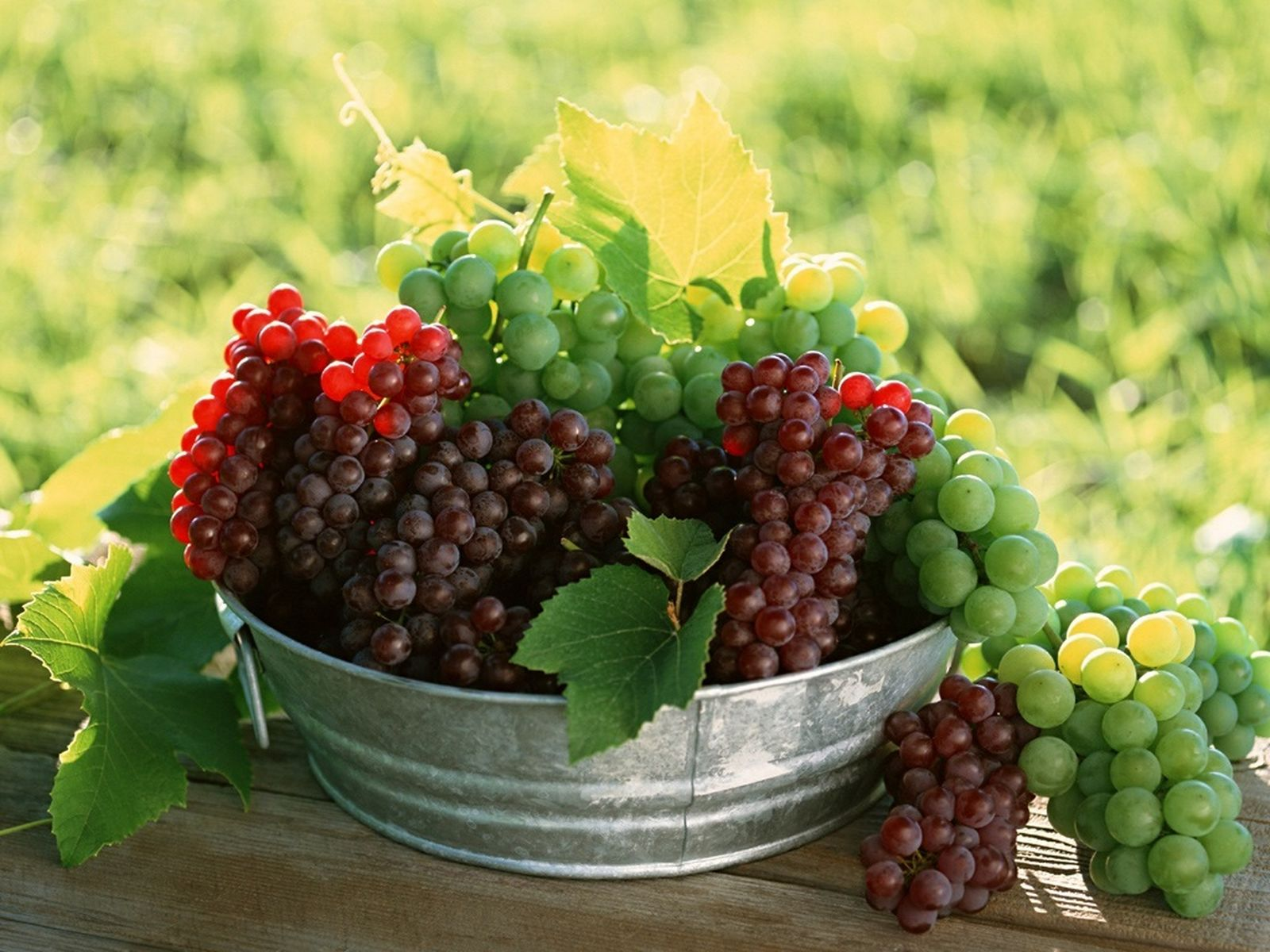 Hd fruits wallpapers 1600x1200 - Fresh Fruit Grapes Hd Pictures Cherry Widescreen Desktop Free Wallpaper