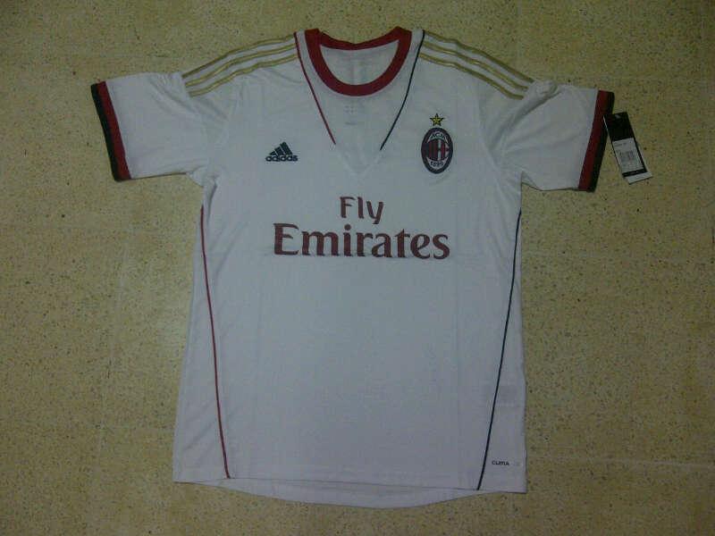 Jual Jersey AC Milan 2013/2014  Putih
