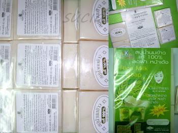 SABUN SUSU BERAS 100% ORIGINAL (K.BROTHERS THAILAND)