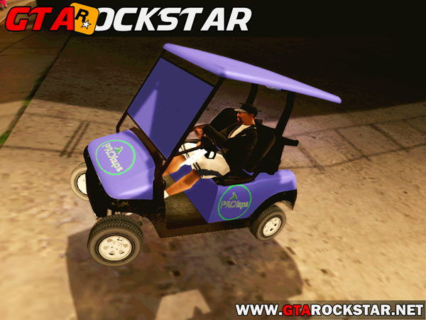 GTA SA - Caddy Convertido do GTA V