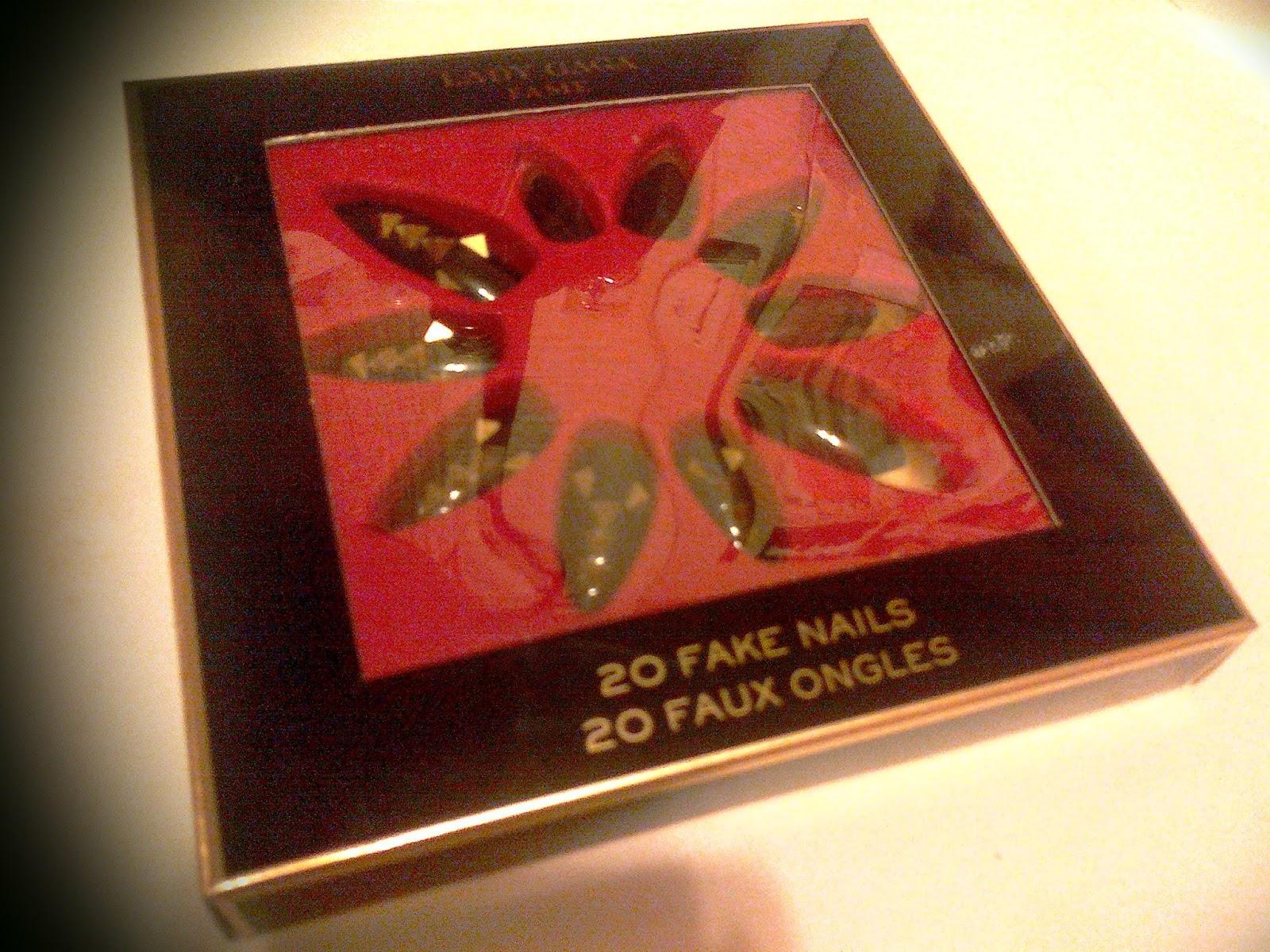 Lady Gaga Fame 20 Fake Nails