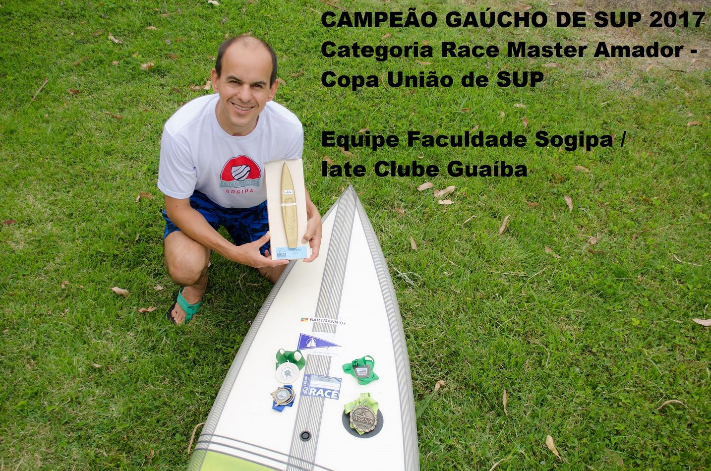 Campeão Gaúcho de SUP - Race Master 2017