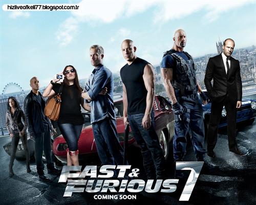 Furious 7 / Öfkeli 7 Film Afişi