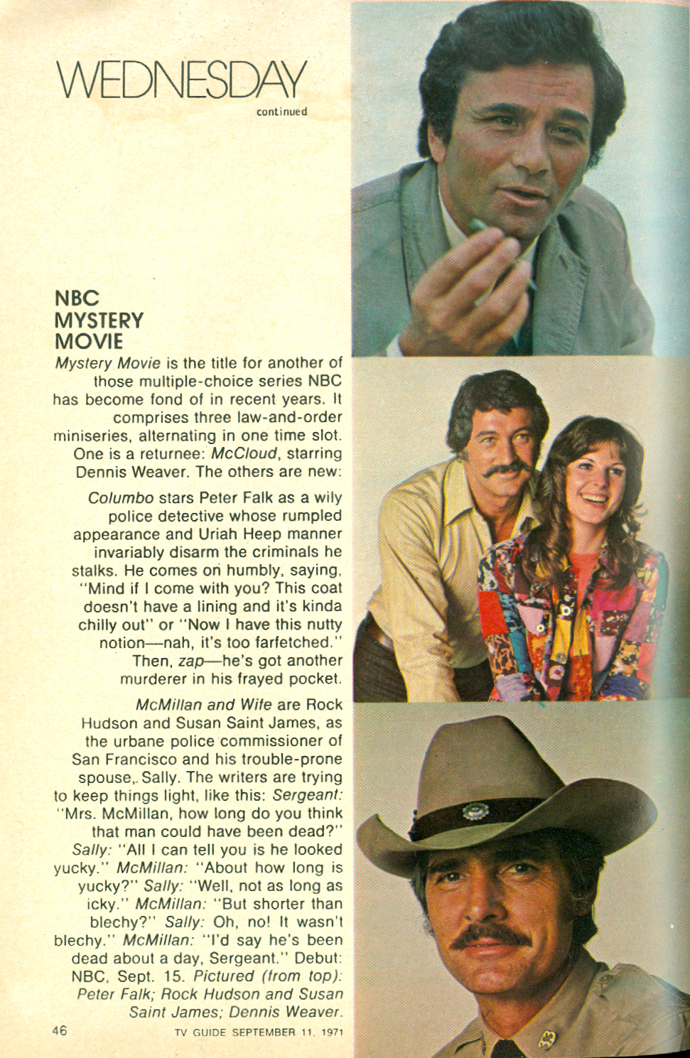 tv page of ultimate mysterydetective web guide - HD971×1489