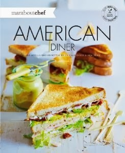 american diner, livre american diner, livre cuisine, marabout, jeu concours, concours gratuit