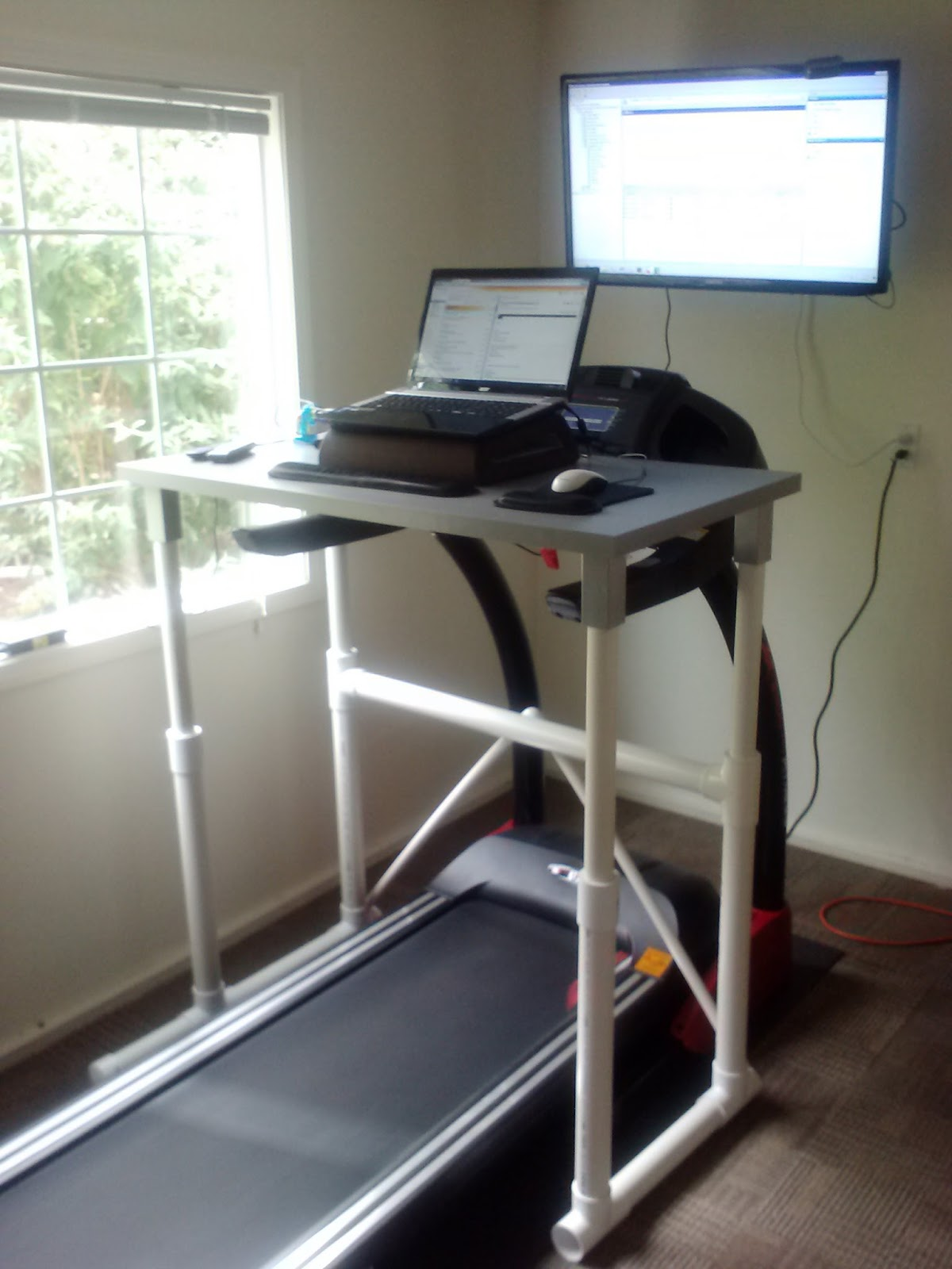 Gallery For > Diy Treadmill Desk Ikea