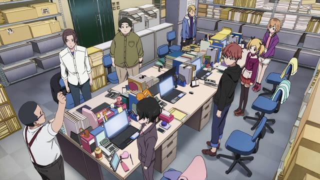 Shirobako - screen z anime o tworzeniu anime