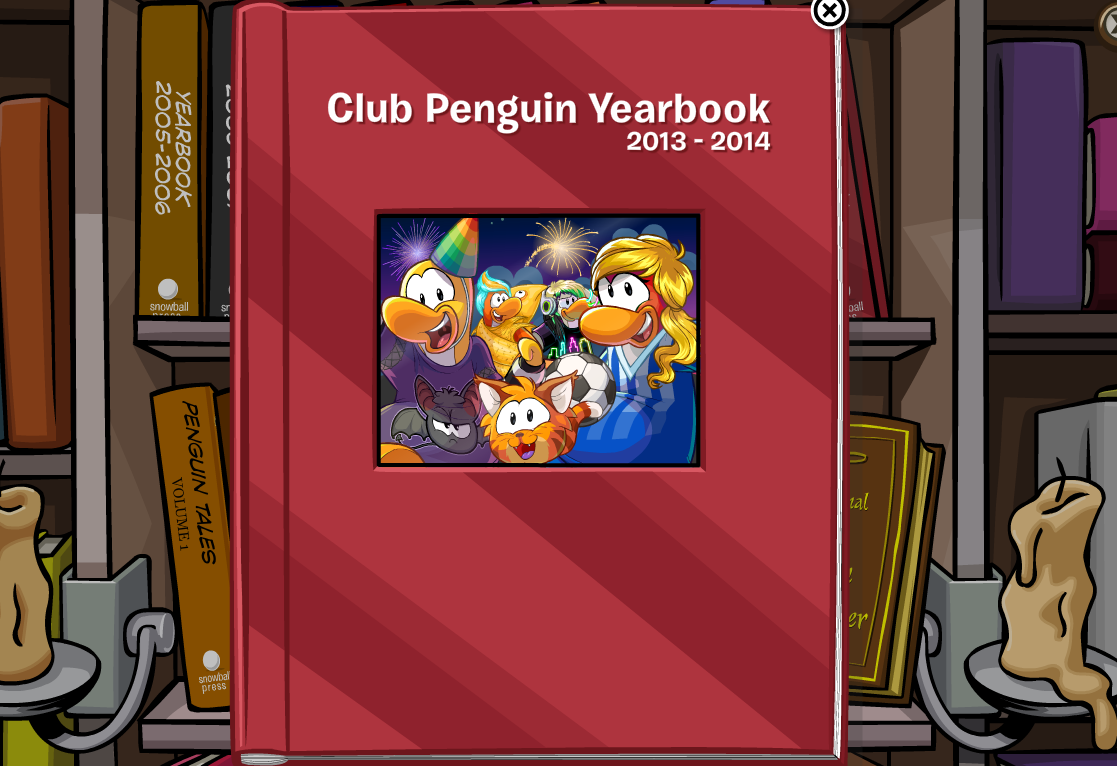 Club Penguin Yearbook 2013-2014