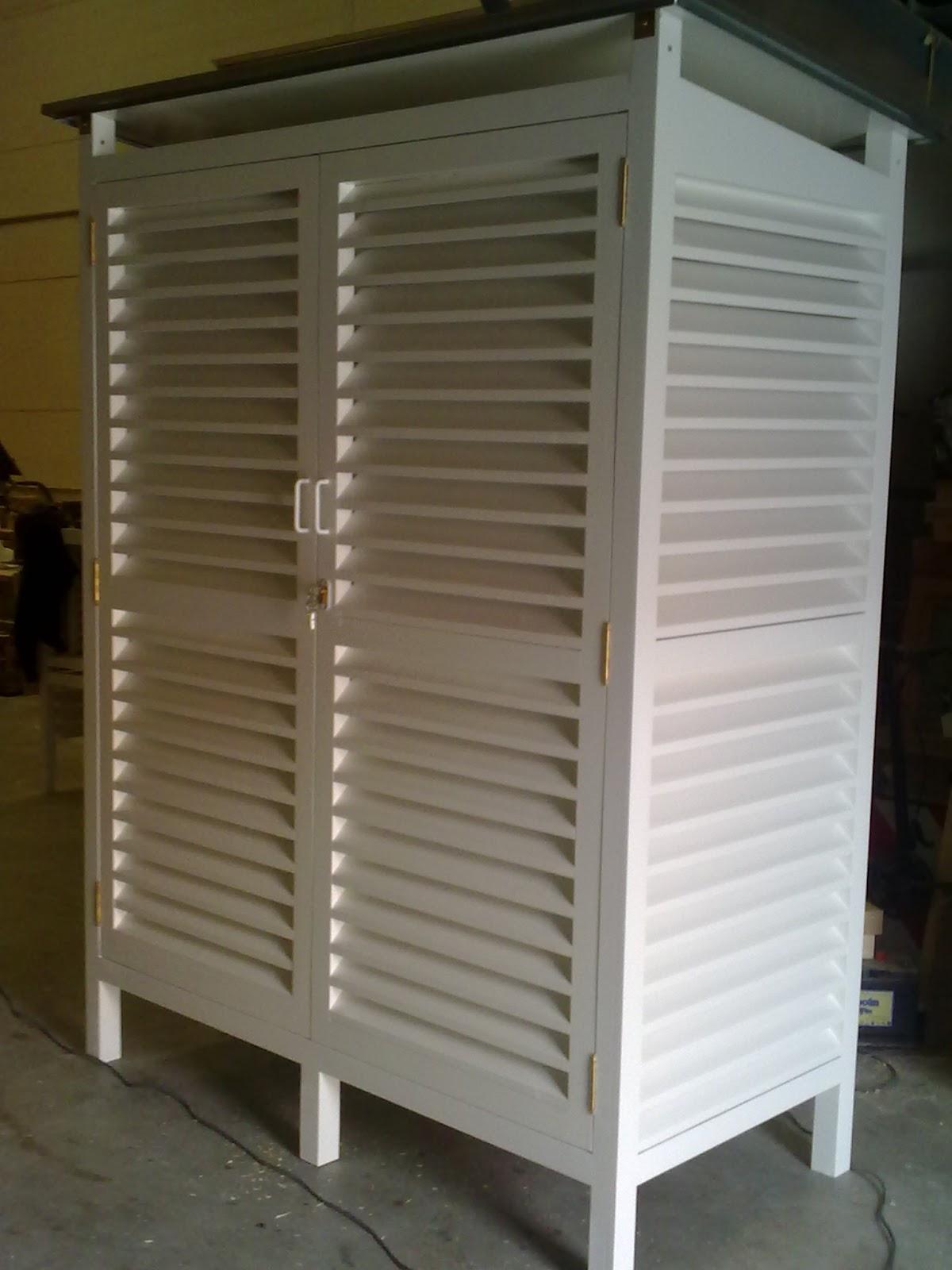 Garitas meteorol gicas for Casetas metalicas ofertas
