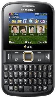 new Samsung Chat 222
