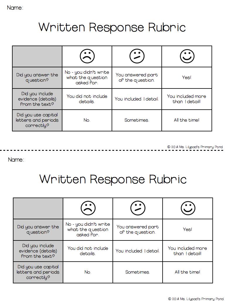 5 paragraph essay rubric pdf