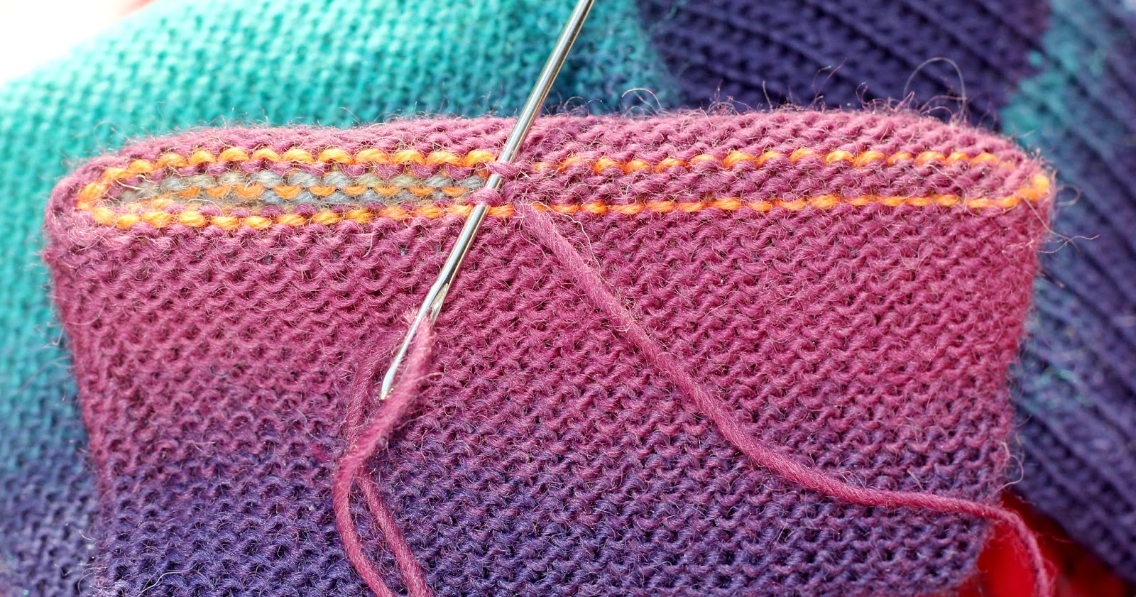 TOM MACHINE KNITTING GUY: Grafting Or Kitchener Stitch