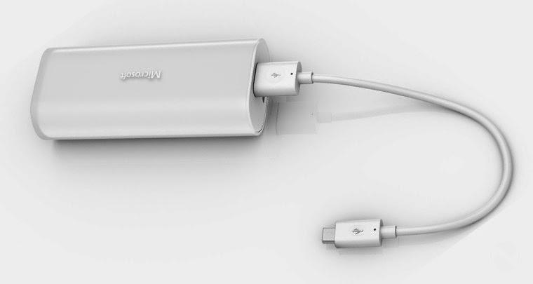 Harga & Spesifikasi Portable Power : Power Bank dari Microsoft