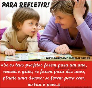 Foto Mensagem Frase Especial  Educação Facebook