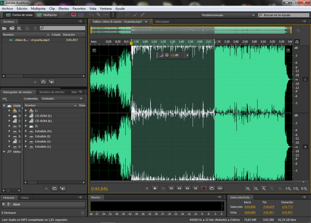 audition audio software