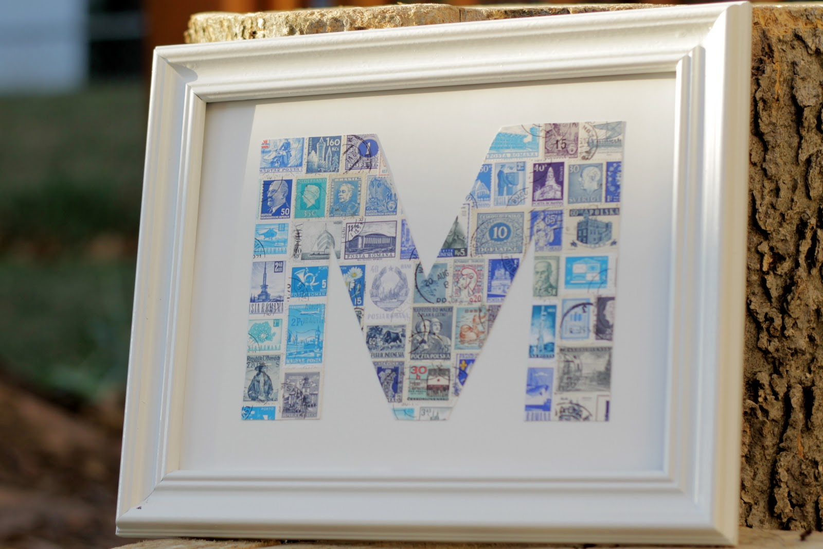 Postage Stamp Craft