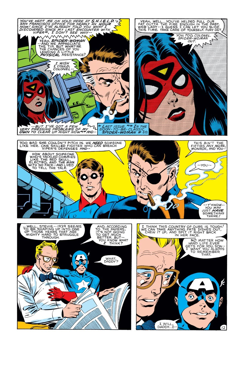 Captain America (1968) Issue #282 #198 - English 13