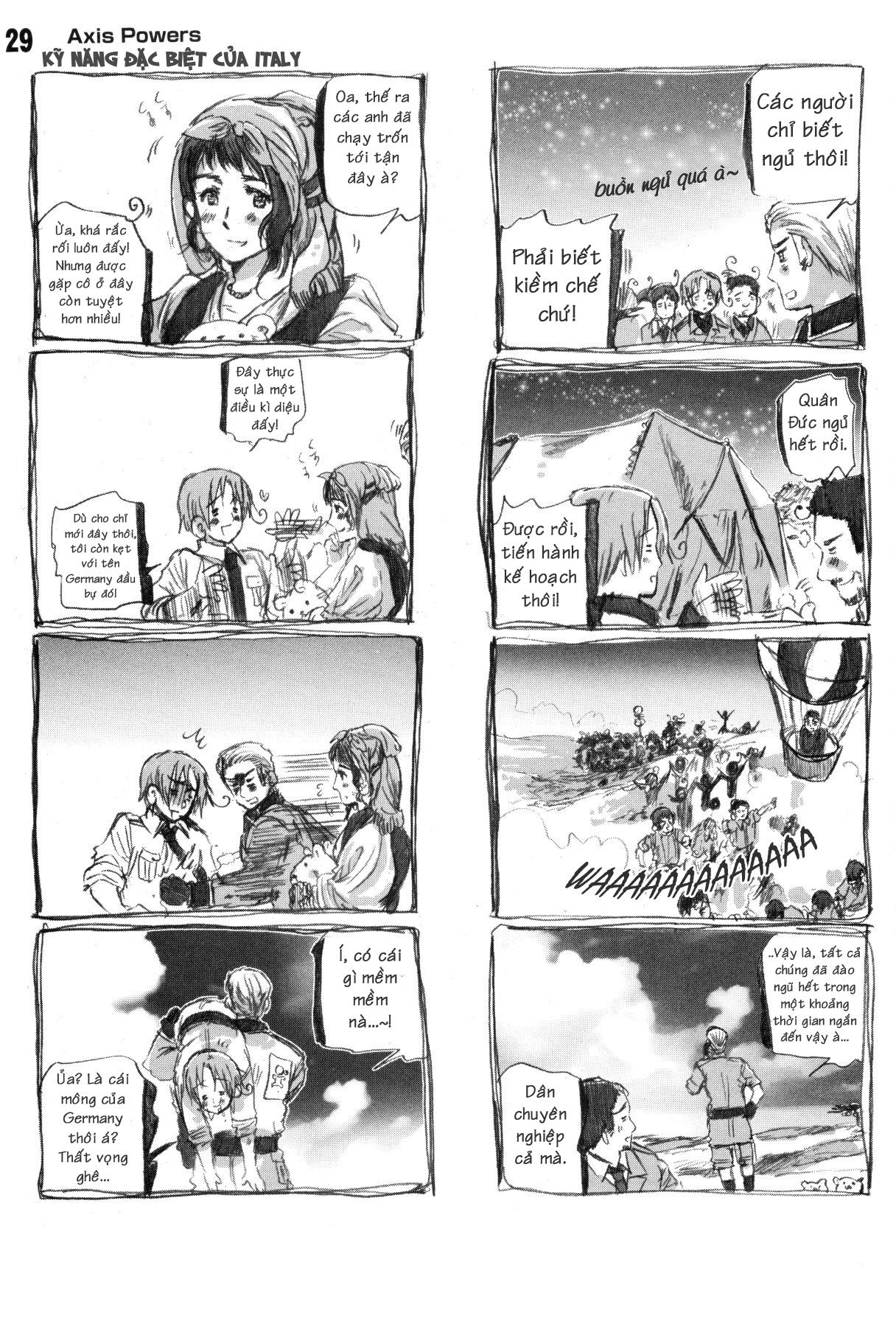 Axis Powers Hetalia chap 3 - Trang 8
