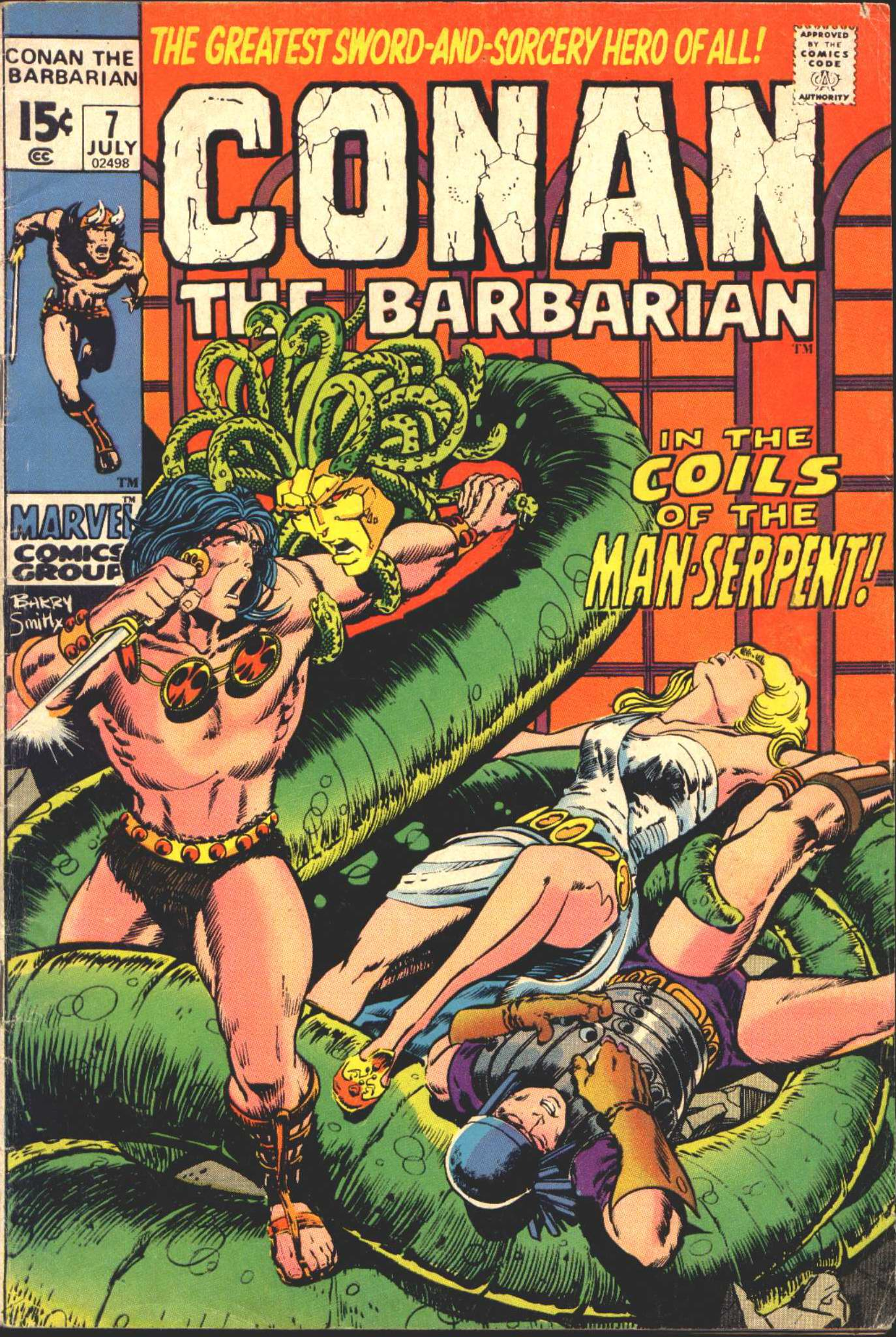Conan the Barbarian (1970) 7 Page 1