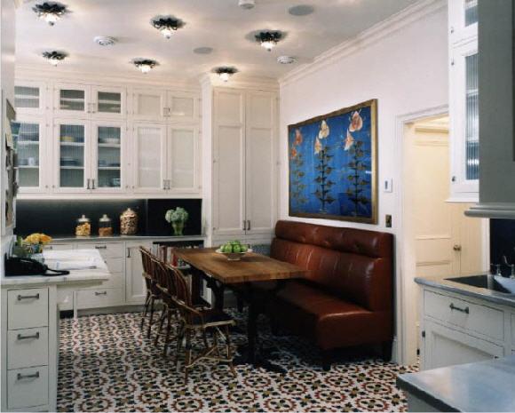 fan of eschewing can lights for a more interesting option i concur. Black Bedroom Furniture Sets. Home Design Ideas