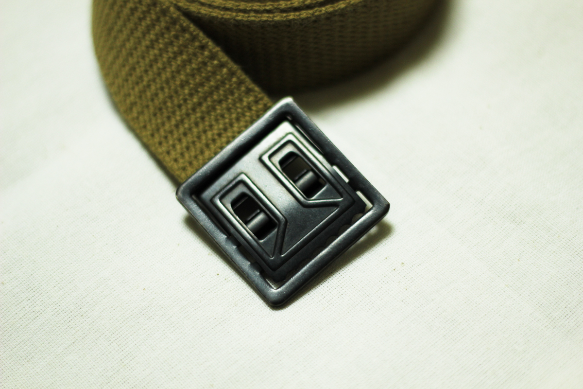 U.S.ARMY Trousers Belt Khaki WW II