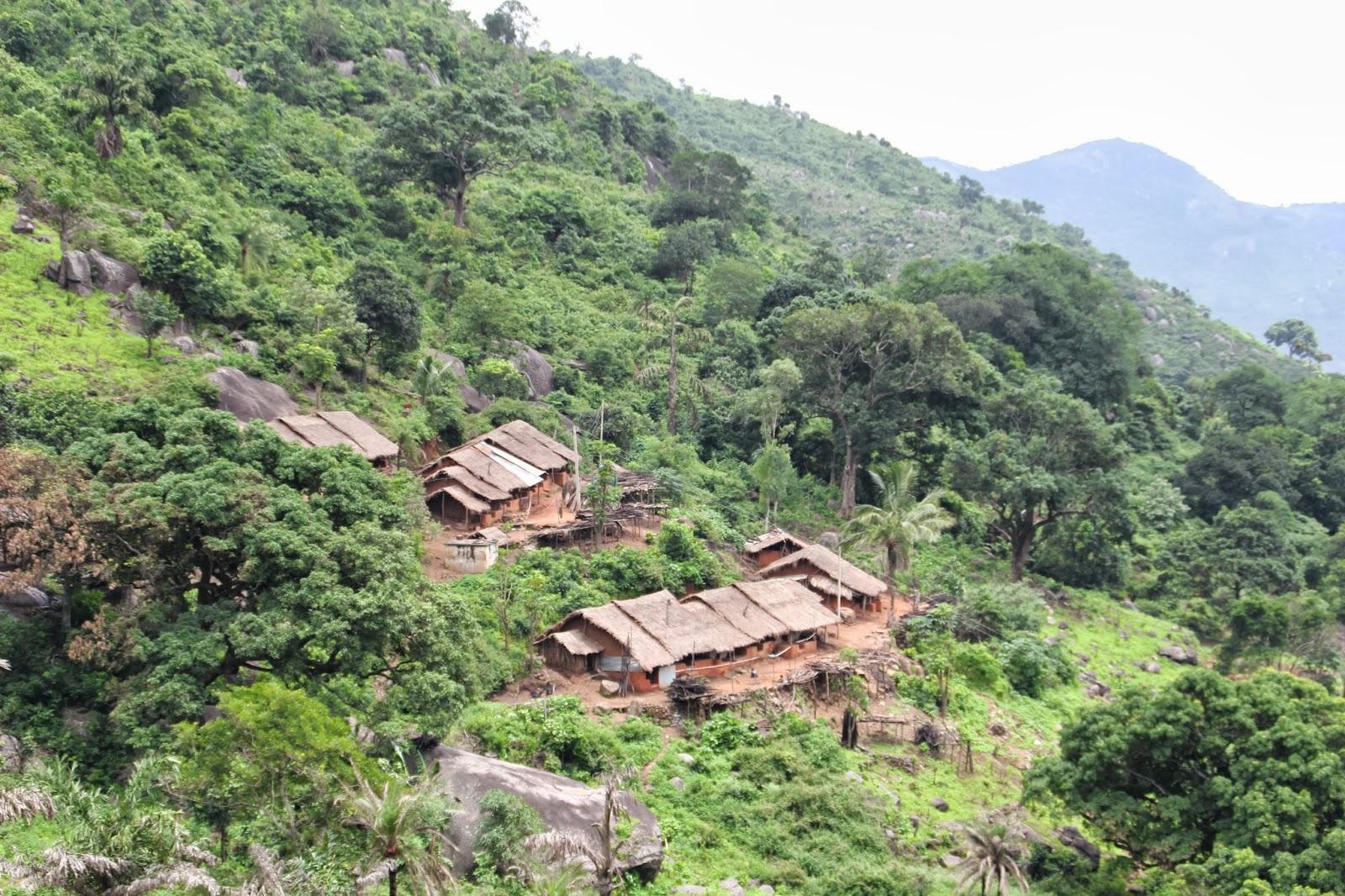 Village below Mahendragiri