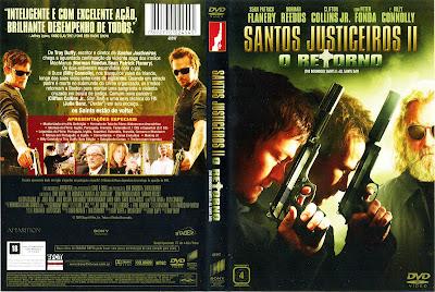 Santos Justiceiros 2 O Retorno DVD Capa