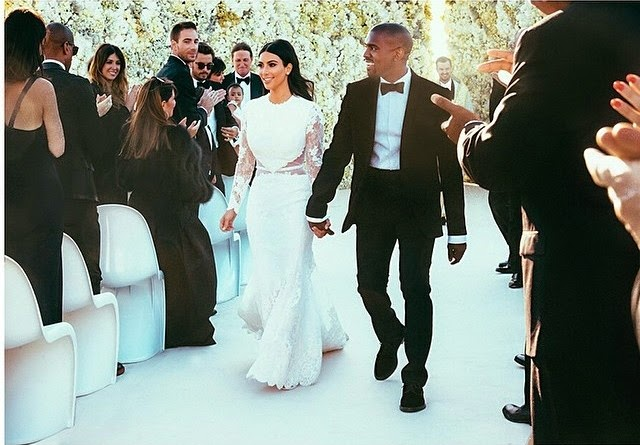 ¿Kanye West y Kim Kardashian se casaron?