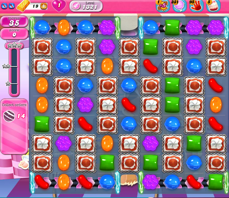 Candy Crush Saga 1321