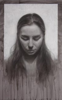 Aubrey 20 in. x 16 in. / charcoal on toned paper /  2012
