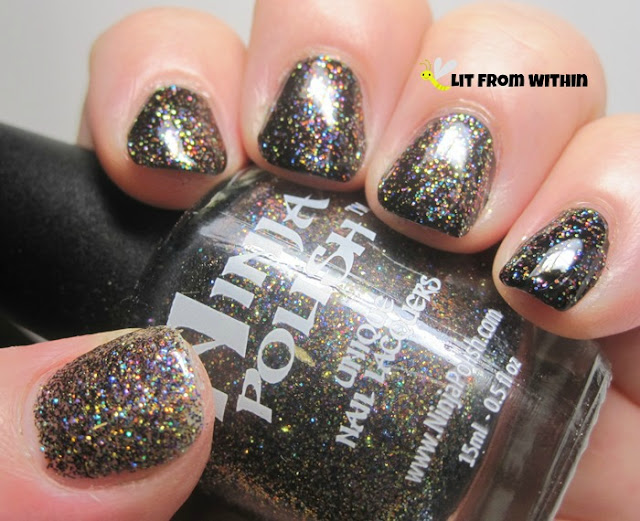 Enter the Dragon, a mix of colorful microglitters