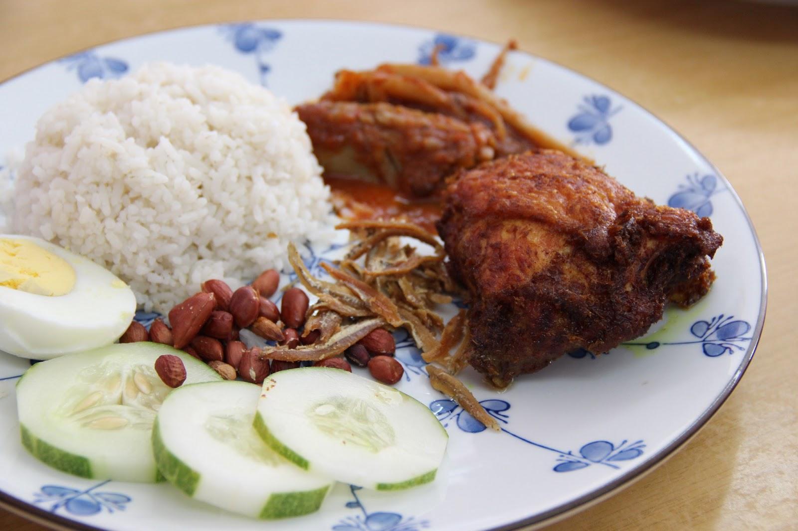 Ss19 Home Taste Nasi Lemak Ayam Goreng Berempah Sambal Sotong
