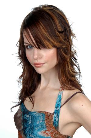 Peinados para pelo en capas largas