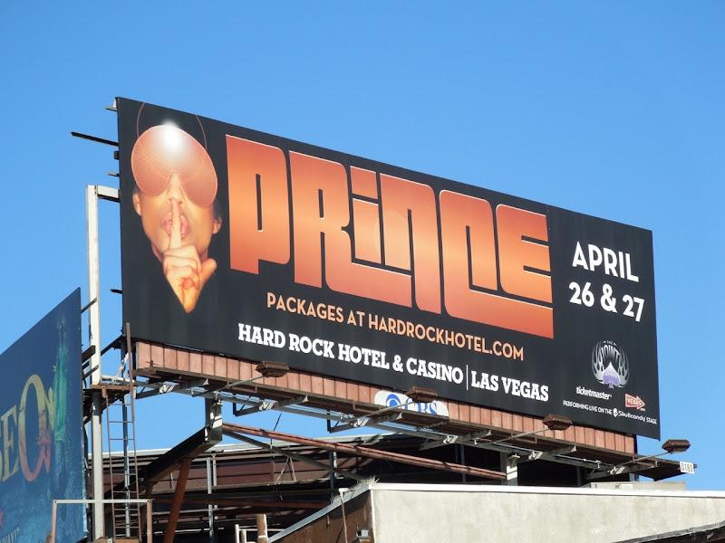 Prince Vegas billboard