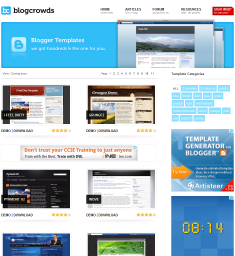 blogger templates, blogger template, free blogger templates, blogcrowds blog template, blogging resources