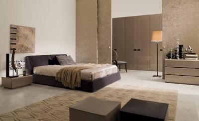 dormitorio colores tierra