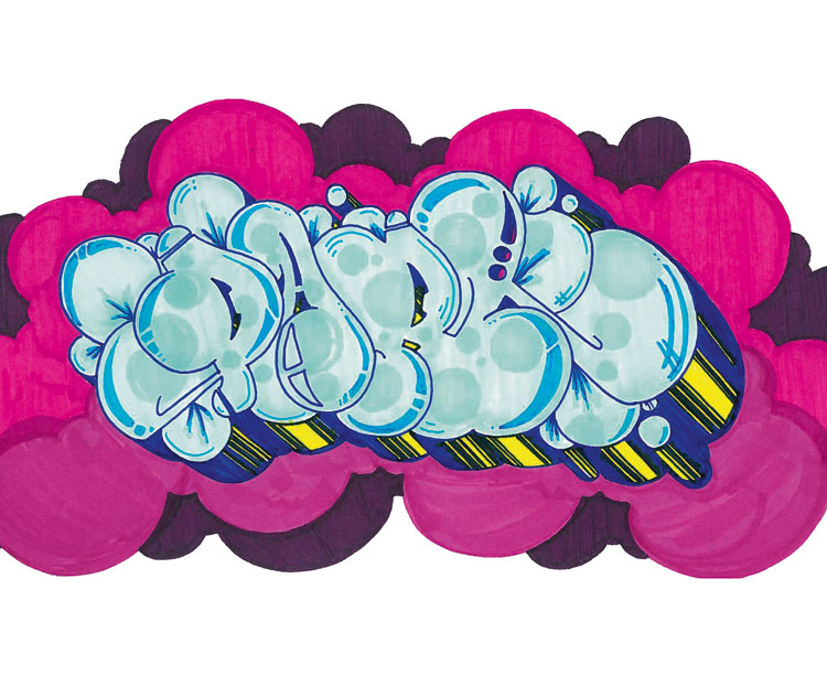 Justins graffiti blog - Graffiti bubble ...